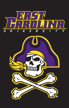 East Carolina Applique Banner Flag