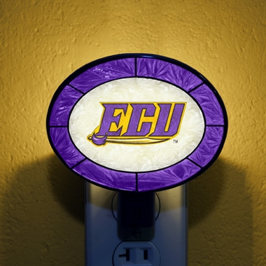 East Carolina Art Glass Night Light