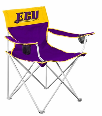 East Carolina Big Boy Adult Folding Logo Chair