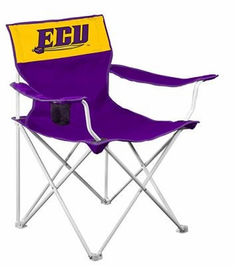East Carolina Canvas Adult Folding Logo Chair