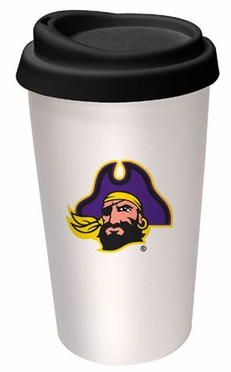 East Carolina Ceramic Travel Cup
