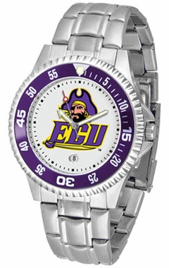East Carolina Competitor Men's Steel Band Watch