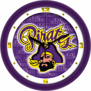 East Carolina Dimension Wall Clock