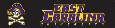 East Carolina Eight Foot Banner