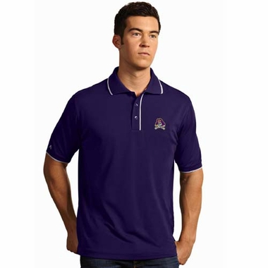 East Carolina Mens Elite Polo Shirt (Team Color: Purple)