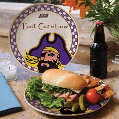 East Carolina Gameday Ceramic Plate