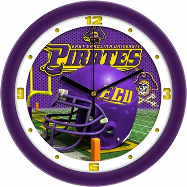 East Carolina Helmet Wall Clock