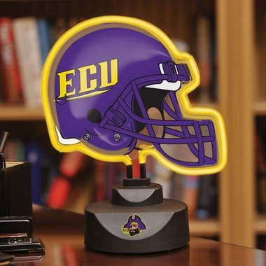 East Carolina Neon Display Helmet