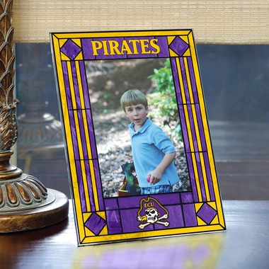 East Carolina Portrait Art Glass Picture Frame