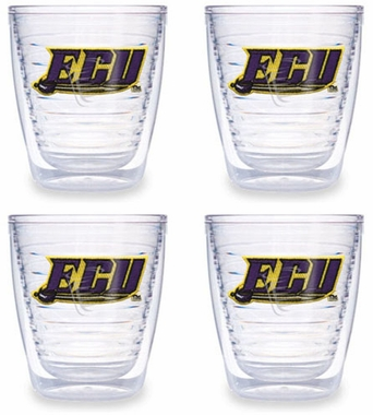 East Carolina Set of FOUR 12 oz. Tervis Tumblers