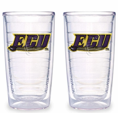 East Carolina Set of TWO 16 oz. Tervis Tumblers
