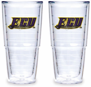 East Carolina Set of TWO 24 oz. Tervis Tumblers