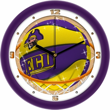 East Carolina Slam Dunk Wall Clock