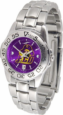 East Carolina Sport Anonized Women's Steel Band Watch