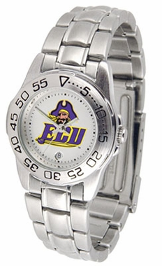 East Carolina Sport Women's Steel Band Watch