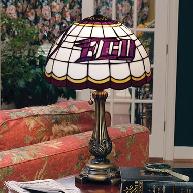 East Carolina Stained Glass Table Lamp