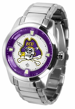 East Carolina Titan Men's Steel Watch