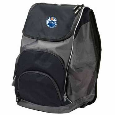 Edmonton Oilers Action Backpack (Color: Black)