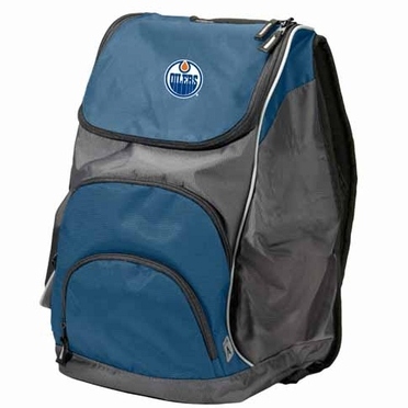 Edmonton Oilers Action Backpack (Color: Navy)