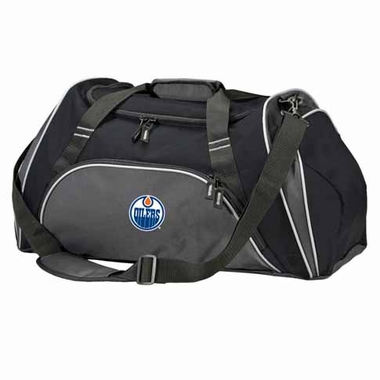Edmonton Oilers Action Duffle (Color: Black)