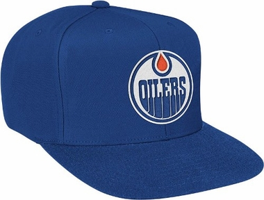 Edmonton Oilers Basic Logo Snap Back Hat