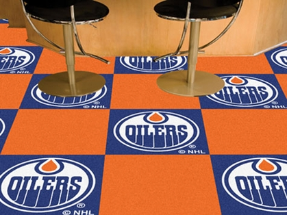Edmonton Oilers Carpet Tiles
