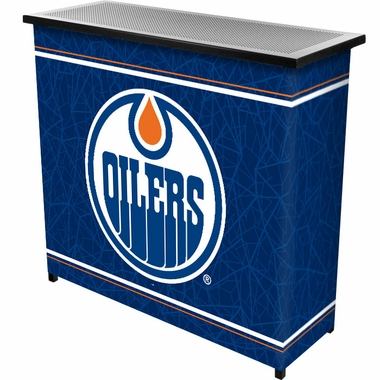 Edmonton Oilers Portable Bar