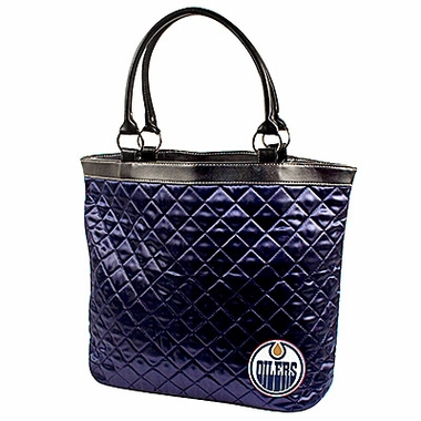 Edmonton Oilers Quilted Tote