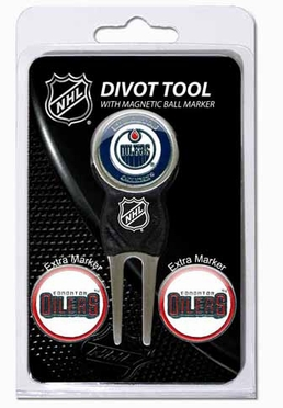 Edmonton Oilers Repair Tool and Ball Marker Gift Set