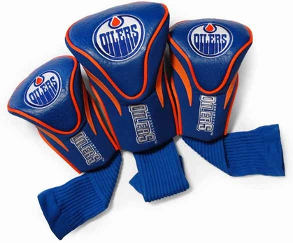 Edmonton Oilers Set of Three Contour Headcovers