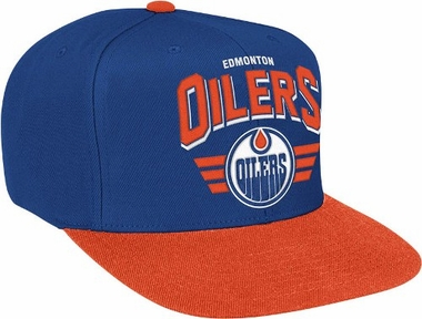 Edmonton Oilers Stadium Throwback Snapback Hat
