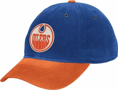 Edmonton Oilers Throwback Vintage Adjustable Hat