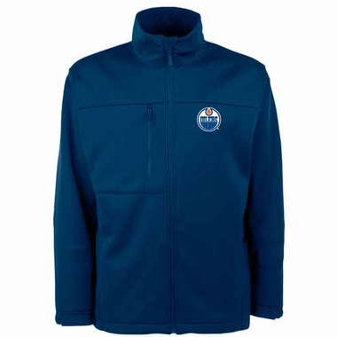Edmonton Oilers Mens Traverse Jacket (Team Color: Navy)