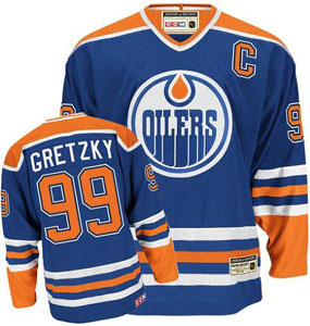 Edmonton Oilers Wayne Gretzky CCM Team Color Premier Jersey - Medium