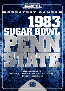 ESPN Greatest Games: Penn State 1983 Sugar Bowl DVD