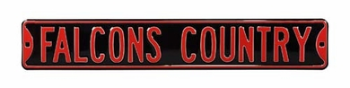 Falcons Country Street Sign