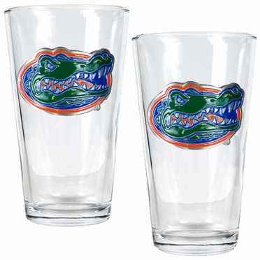 Florida 2 Piece Pint Glass Set