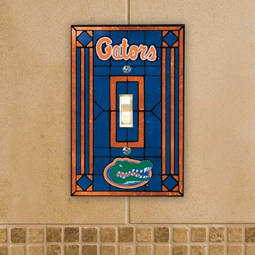 Florida Art Glass Lightswitch Cover