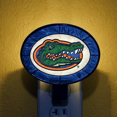 Florida Art Glass Night Light