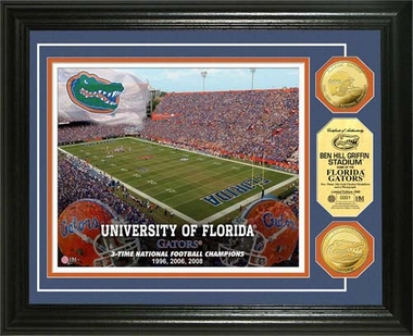 Florida Gators University of Florida Stadium Gold Coin Photo Mint