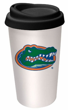Florida Ceramic Travel Cup
