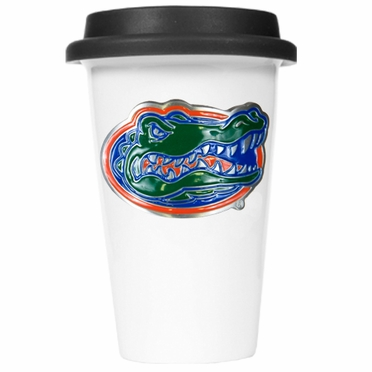 Florida Ceramic Travel Cup (Black Lid)