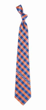 Florida Check Poly Necktie
