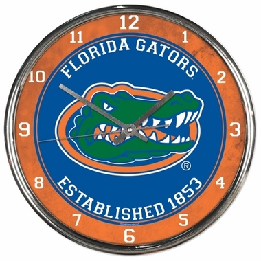 Florida Chrome Clock