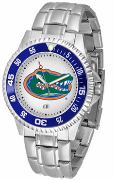 Florida Competitor Men's Steel Band Watch