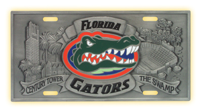 Florida Deluxe Collector's License Plate