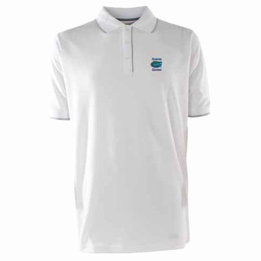 Florida Mens Elite Polo Shirt (Color: White)