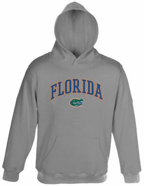Florida Embroidered Hooded Sweatshirt (Grey)