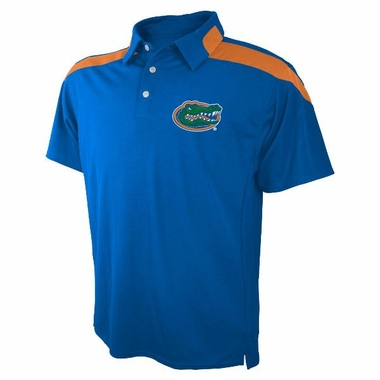 Florida Embroidered Logo Polyester Polo Shirt