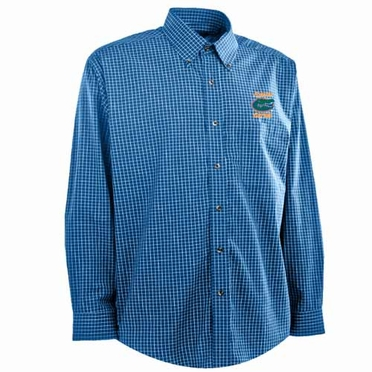 Florida Mens Esteem Button Down Dress Shirt (Team Color: Royal)